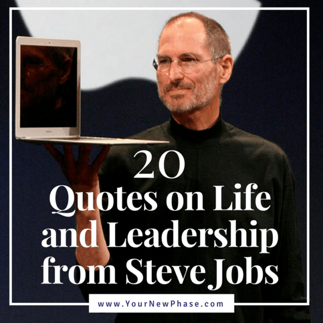 Steve Jobs on Leadership