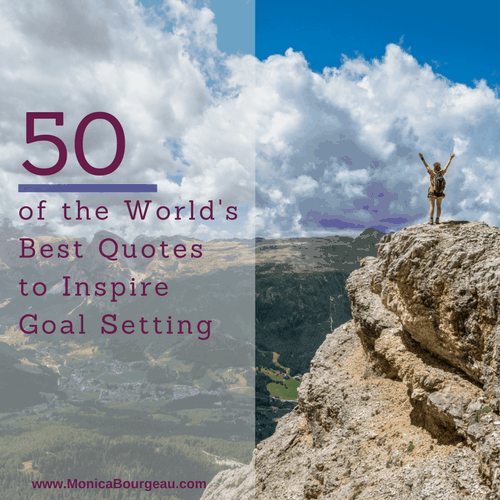 50 of the World's Best Quotes to Inspire Goal Setting