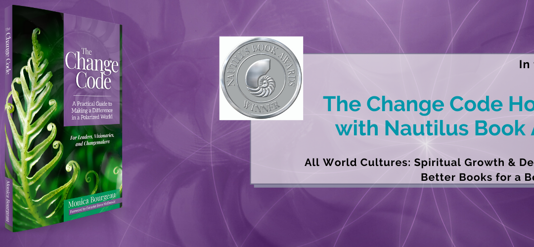The Change Code Honored with Nautilus Book Award